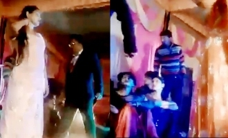 Shocking video: Woman shot in face after she stops dancing at wedding