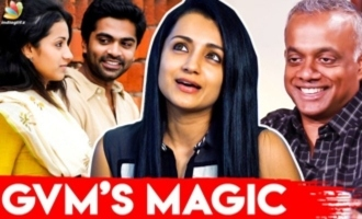 Why VTV is so Special ? - Trisha Reveals for the 1 st time