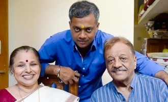 This is how Gautham Menon fulfilled his father's cinema wish before his death!
