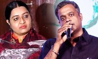Deepa gets a sharp response from Gautham Menon