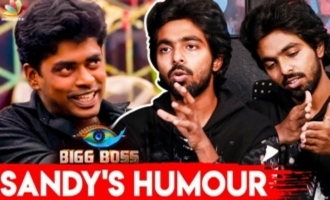 Sandy has extraordinary patience - GVP Siddharth interview