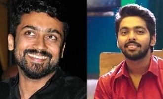 G.V. Prakash gives a super hot update on Suriya's new movie