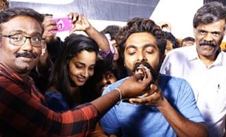 GV Prakash Birthday Celebration at Shooting Spot