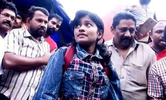 மீன் விற்றதாக கேலி செய்யப்பட்ட மாணவி கொட&#3009