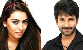 Hansika signs next with Aadhi!