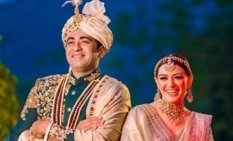 Grand wedding in Hansika Motwani's household photos go viral