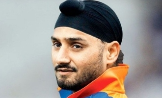 Cricketer Harbhajan Singh turns hero in Tamill!