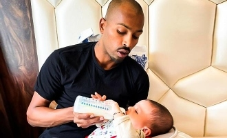 Hardik Pandya meets son after 4 months; Video goes viral