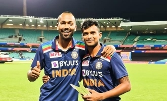 Hardik Pandya showers praises on Natarajan!