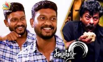 Johnny Hari Krishnan Imitates Rajkiran Eating Style | Interview