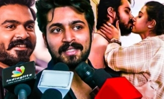 Simbu's Terrific Reaction for my Movie : Harish Kalyan Speech