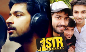 Harish Kalyan sings for STR's Sakka Podu Podu Raja
