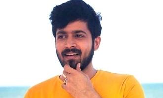Harish Kalyan pairs with Thadam heroine!