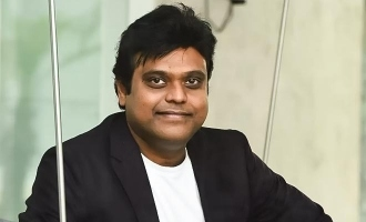 Harris Jayaraj reveals a new type of mask!