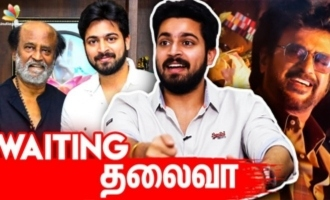 I saw Thalaivar's aura - Harish Kalyan interview