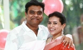 Harris Jayaraj wedding anniversary celebrations photos