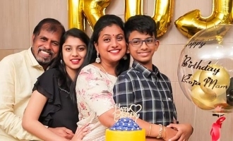 Actress Roja birthday celebrations photos turn viral!