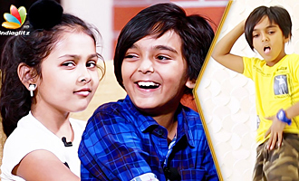 Adorable Kutty Jodi Heet & Rithva Interview and Dance Performance