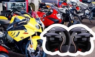Buy 2 wheelers in Tamil Nadu, get 2 helmets free!