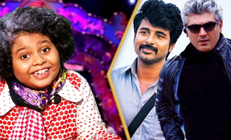 One eye Sivakarthikeyan, one eye Thala : Kings of Comedy Junior Hrithik Hasan Interview, Performance