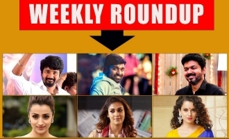 Indiaglitz Weekly Roundup - Vijay Sethupathi's screenplay, Siva Karthikeyan's next, Thalapathy 63 plot, Thalaivi's lead and many more.