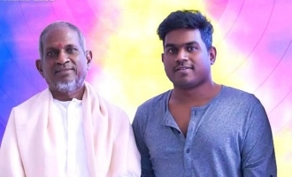 Ilaiyaraja and Yuvan composing Maamanidhan song released on April 7