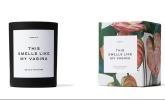 Famous actress creates vagina scented candle that is in high demand