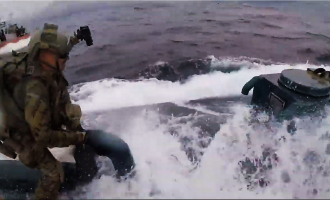 Video of US Coast Guard in Action in Drug Bust Impresses