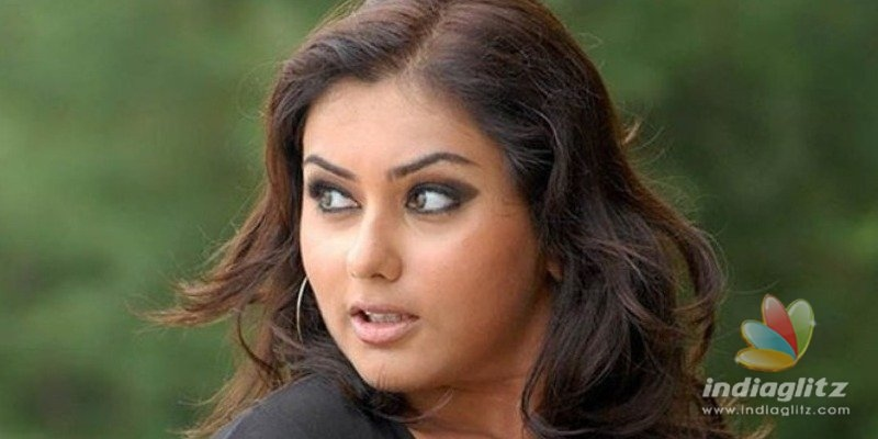 Namitha exposes blackmailer who threatened to release her adult video