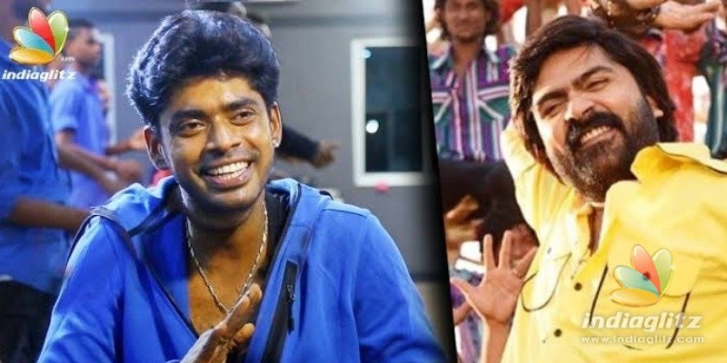 Simbu gives the most loving welcome to Sandy after Bigg Boss 3 - Video