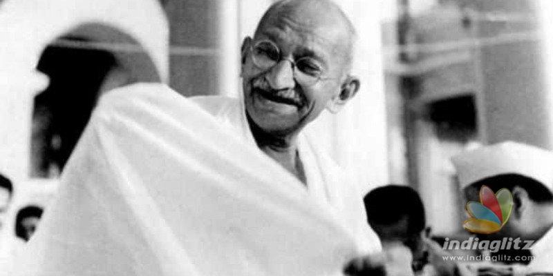 Mahatma Gandhis ashes urn stolen and shocking word written on his portrait