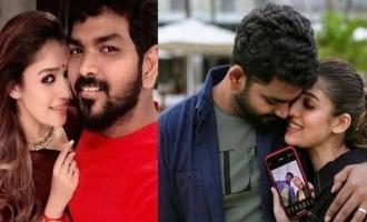 Vignesh Shivan - Nayanthara's intimate romantic photo turns viral!