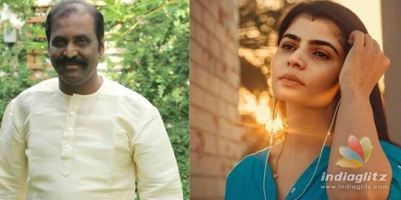 Chinmayi demands house from magazine for Vairamuthu controversy