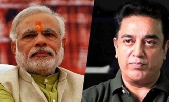 """Call me an antinational, but your vision failed this time!"" - Kamal Haasan slams Modi govt!"