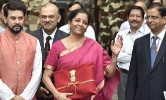Union Budget 2021 through app Nirmala Sitharaman