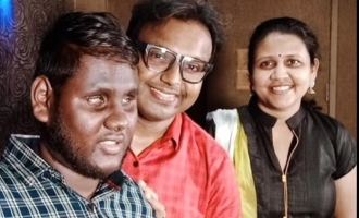 Thirumurthy become a playback singer in D Imman music