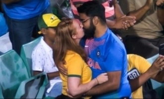 India vs Australia 2nd ODI Indian fan proposes to Australian girlfriend