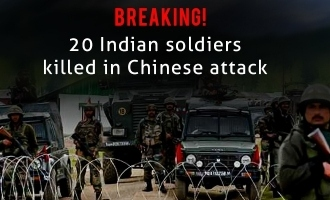 Breaking! 20 Indian soldiers killed in Chinese attack