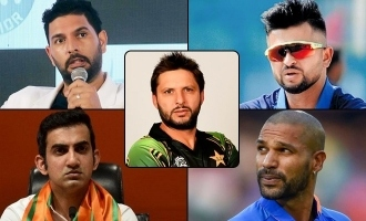 Indian cricketers slam Afridi for anti Modi remarks!