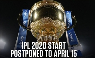 The start date of IPL 2020 has been postponed from March 29 to April 15