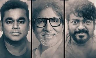 Amitabh Bachchan presents the curtain raiser of Parthiban's single-shot feature 'Iravin Nizhal'!
