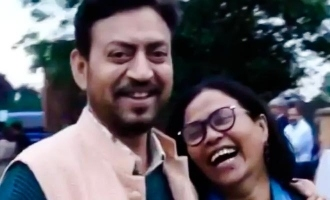 Irrfan Khan's throwback video singing 'Mera Saya' left fans emotional.