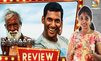 Irumbu Thirai First Half Review by Vidhya