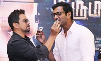 'Irumbu Thirai' Success Meet