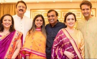 Estimated cost of Isha Ambani-Anand Piramal wedding
