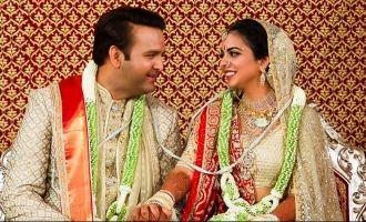 Here's The Inside Details Of Isha Ambani - Anand Piramal's Wedding