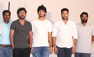Vanamagan and Ivan Thanthiran Team Press Meet