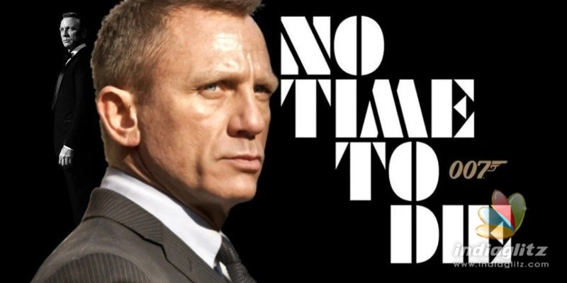Daniel Craig Wraps James Bond Filming on 'No Time to Die'