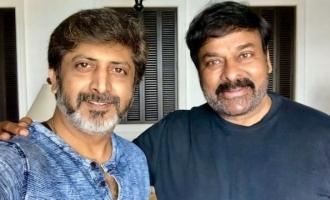 Mohan Raja to direct Lucifer Telugu remake starring Chiranjeevi