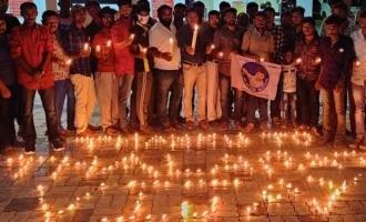 10 நாட்களை கடந்தும் மாஸ்டர் படத்திற்கு ரசிகர்கள் மெழுகுவர்த்தி ஏற்றி வரவேற்பு!